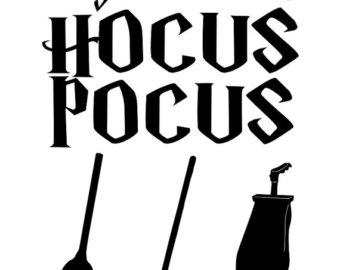 Hocus Pocus Hair Clipart.