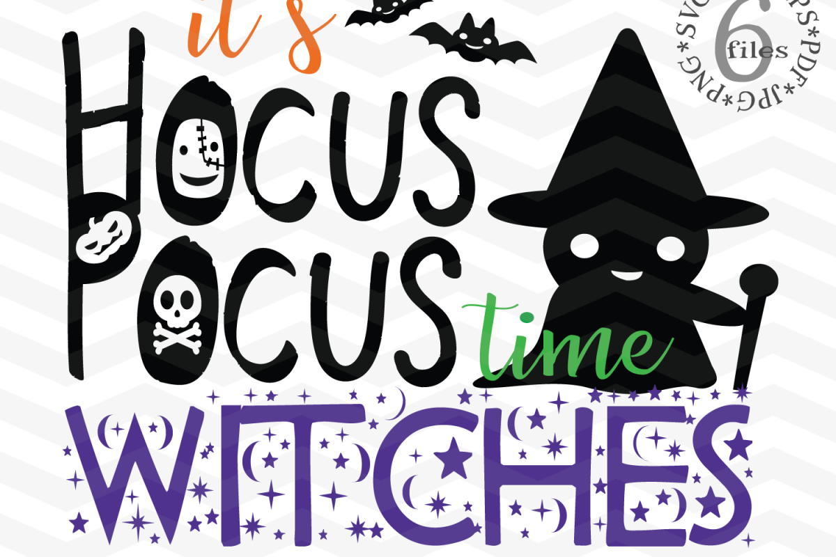 Its Hocus Pocus time Witches.