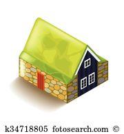 Hof Clip Art EPS Images. 3 hof clipart vector illustrations.