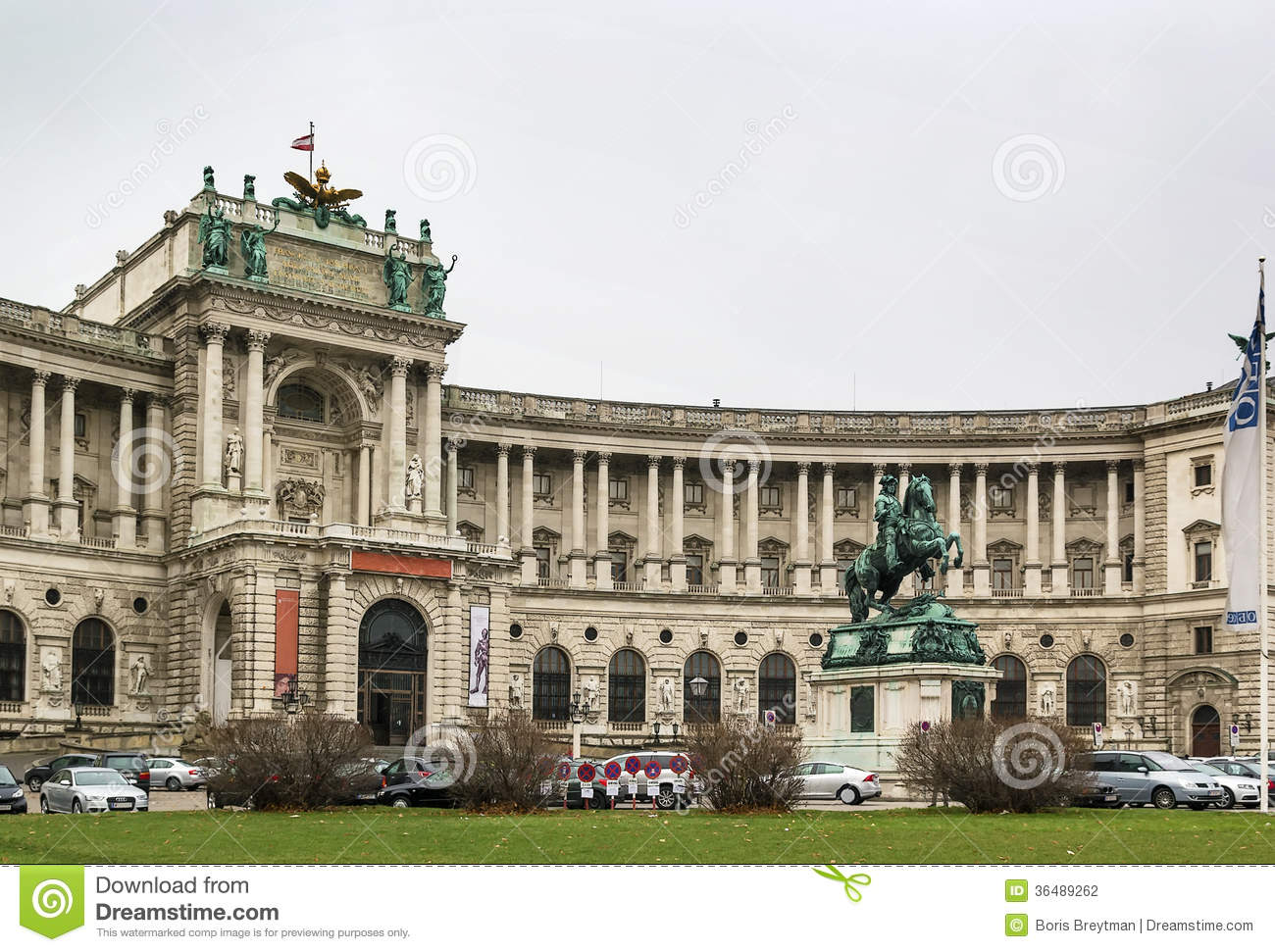 Hofburg Palace, Vienna Stock Photography.
