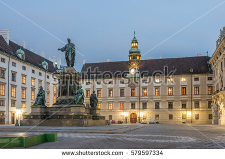 Hofburg Imperial Palace Stock Photos, Royalty.