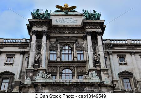 Stock Photo of Hofburg Imperial Palace Vienna.