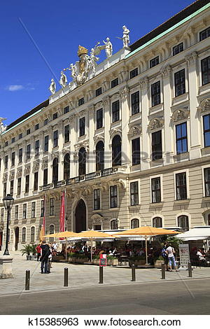 Stock Photo of Hofburg Palace k15385963.