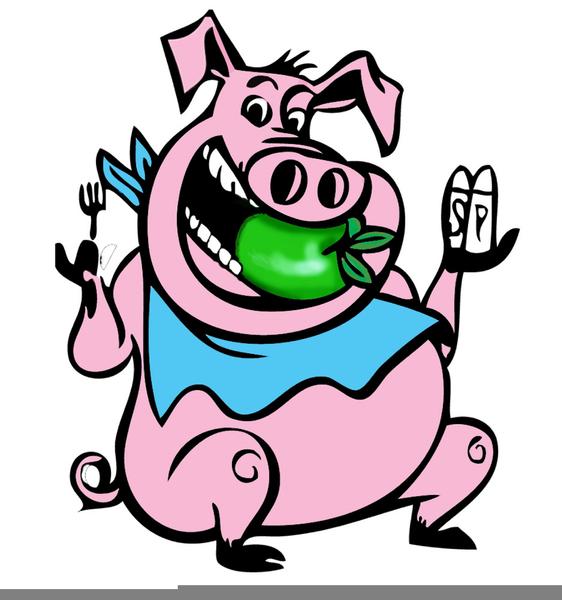 Free Clipart Pig Roast.