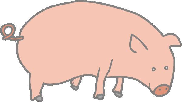 Pig 5 Clip Art at Clker.com.
