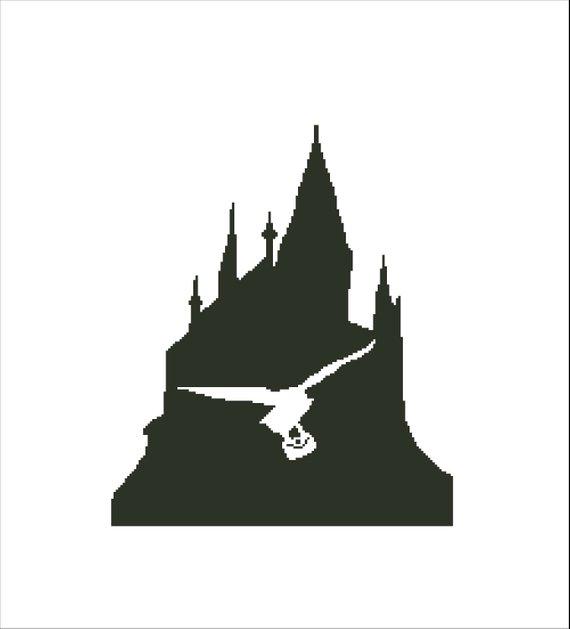 INSPIRED by Harry Potter cross stitch pattern.