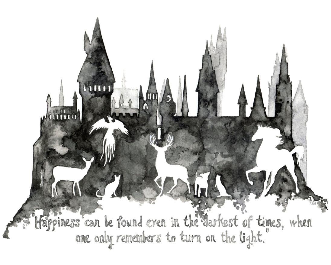 Harry Potter Book Art Hogwarts Hogwarts clipar...