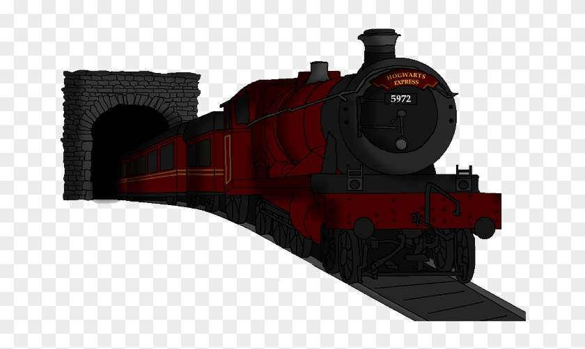 Drawing Train Harry Potter.