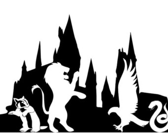 Hogwarts silhouette clipart 3 » Clipart Station.