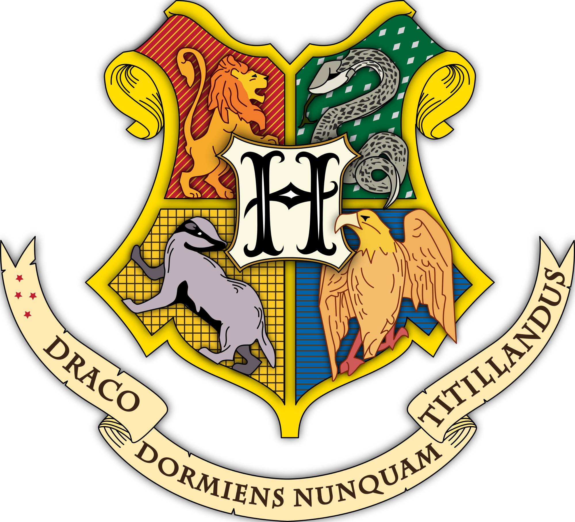 File:Hogwarts coat of arms colored with shading.svg.
