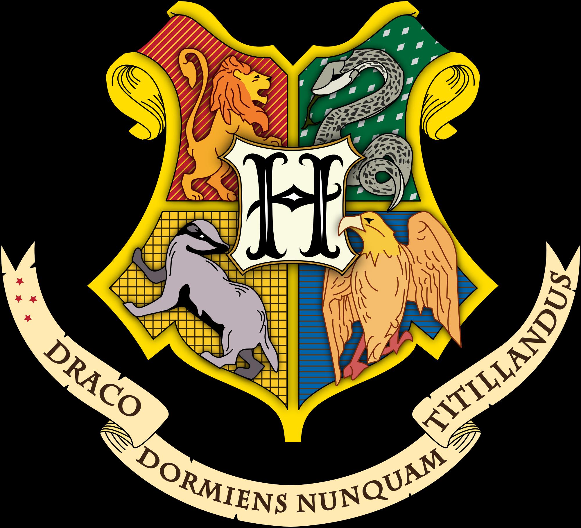 Hogwarts silhouette clipart good resolution clipground - Gryffindor crest high resolution ...