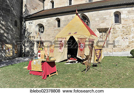 "Pictures of ""Knights' dwelling or knights' tent, historical."