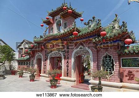 Picture of Phuc Kien Assembly Hall, Hoi An, Quang Nam Province.