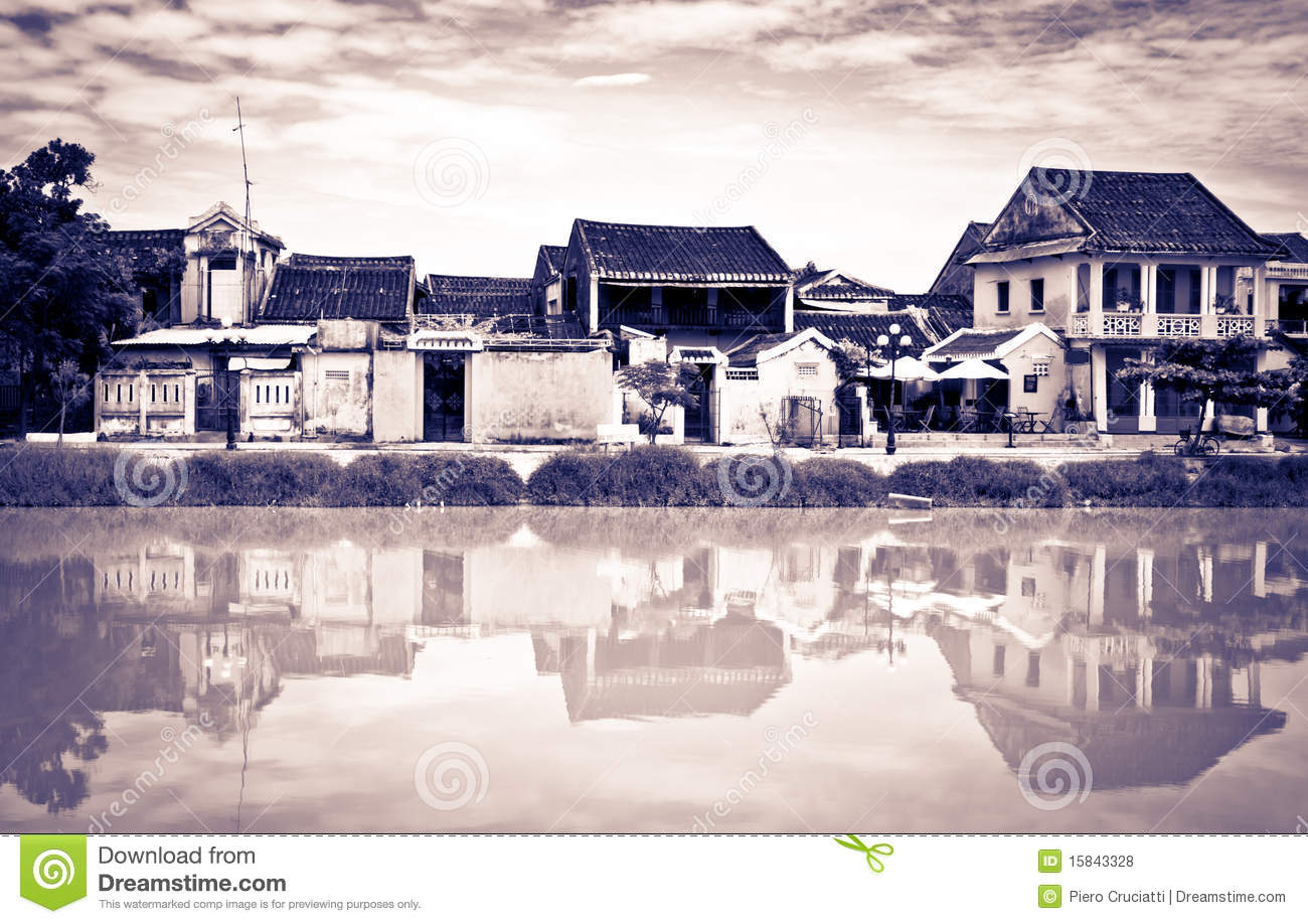 Different Vintage Look Of Hoi An, Vietnam, UNESCO Royalty Free.