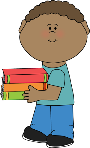 Boy Holding Clipart.