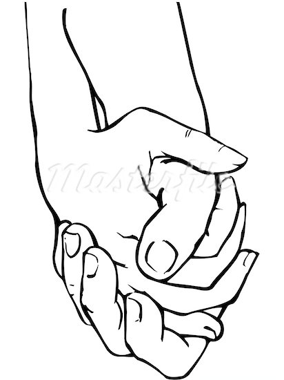 hand holding hand clipart clipart kid.