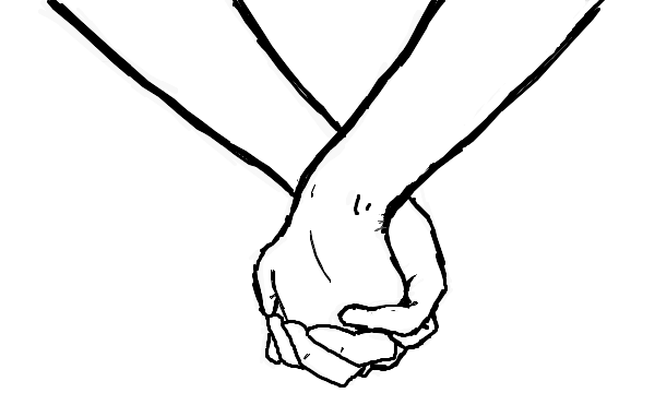 Holding Hands Clipart