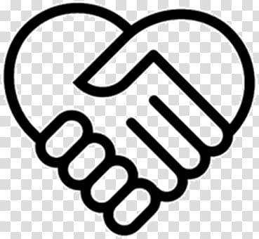 Handshake Drawing Holding hands, hand transparent background.