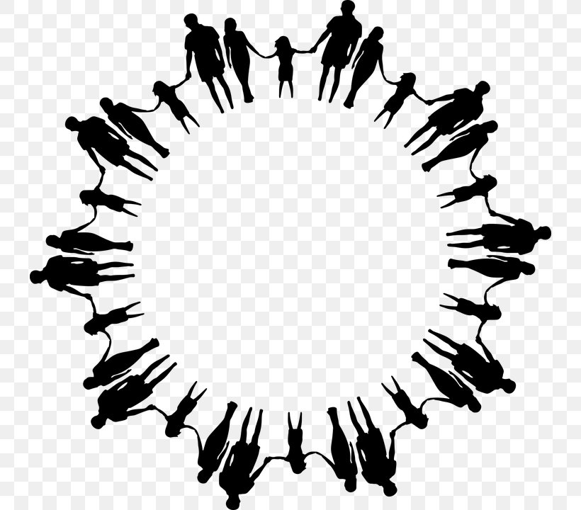 Circle Holding Hands Clip Art, PNG, 736x720px, Holding Hands.