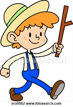 Amish Boy Clipart.