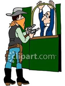 Robbery Clipart.