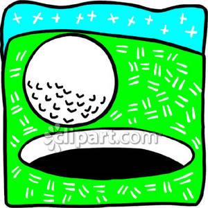 Golf Ball Hole Clipart.