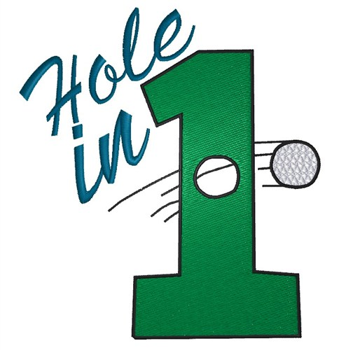 Hole In One Clipart.