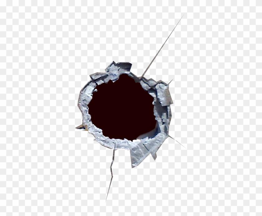 Bullet Shot Hole Png Image.