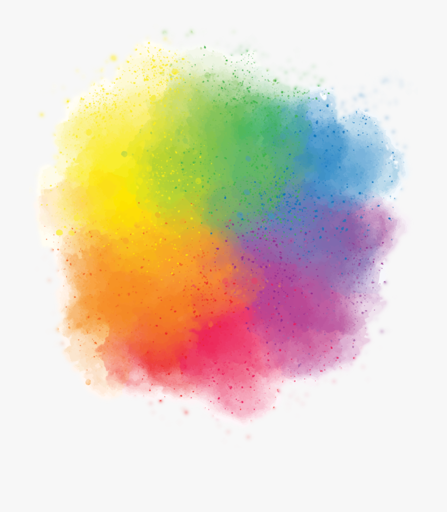 Holi Color Background Png Clipart.