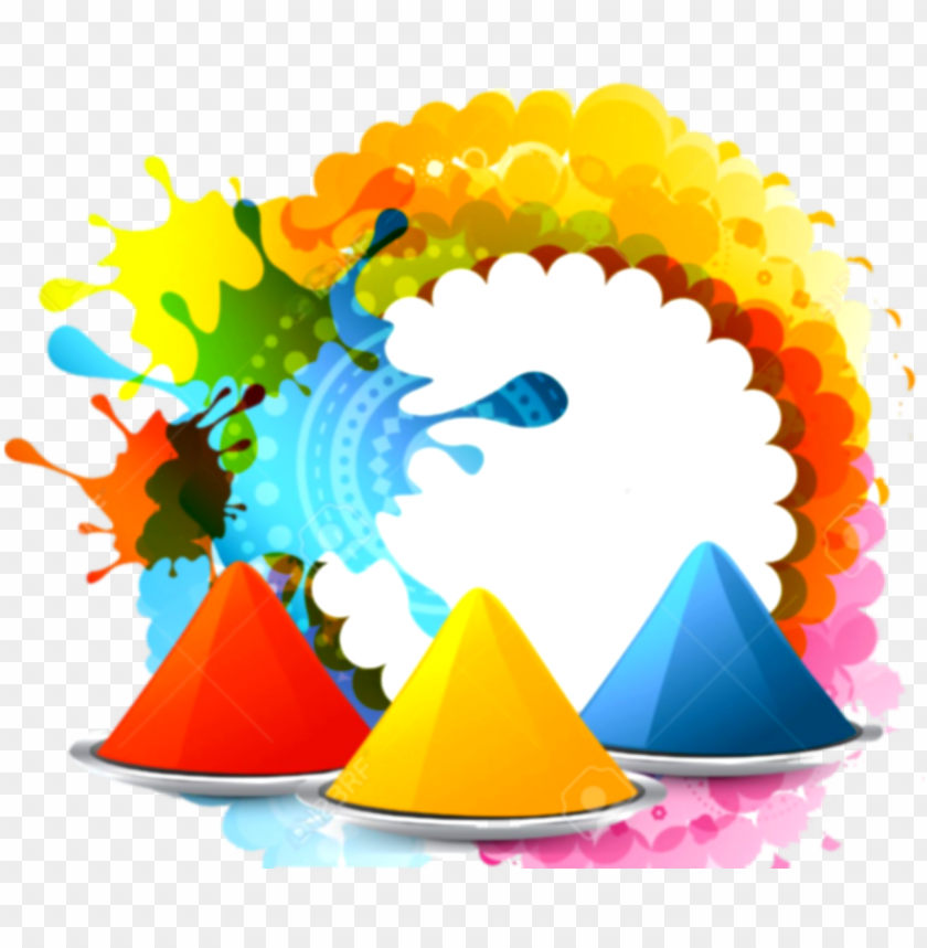 holi festival clipart png background.