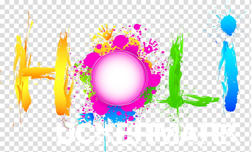 Happy Holi Text File, Holi uckermark illustration.