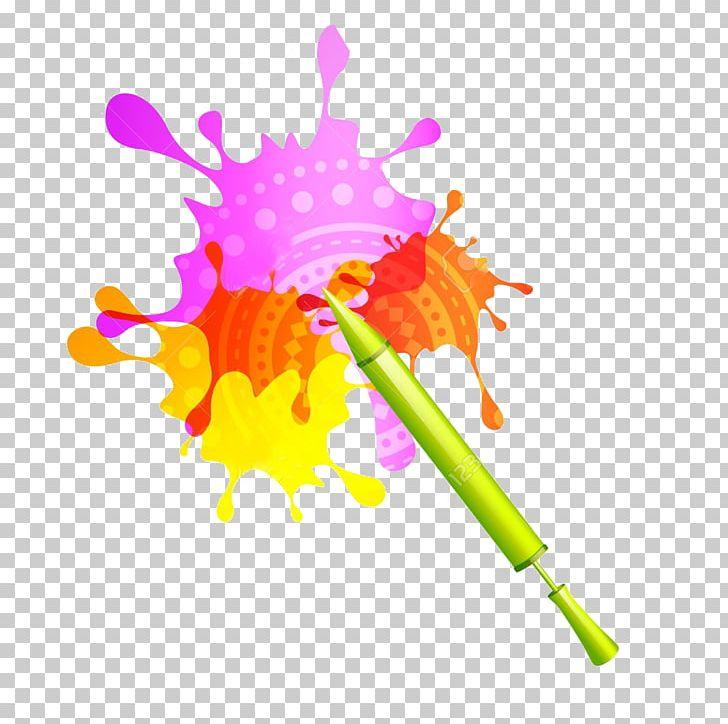 Paint Holi Color PNG, Clipart, Art, Color, Festival, Flower.