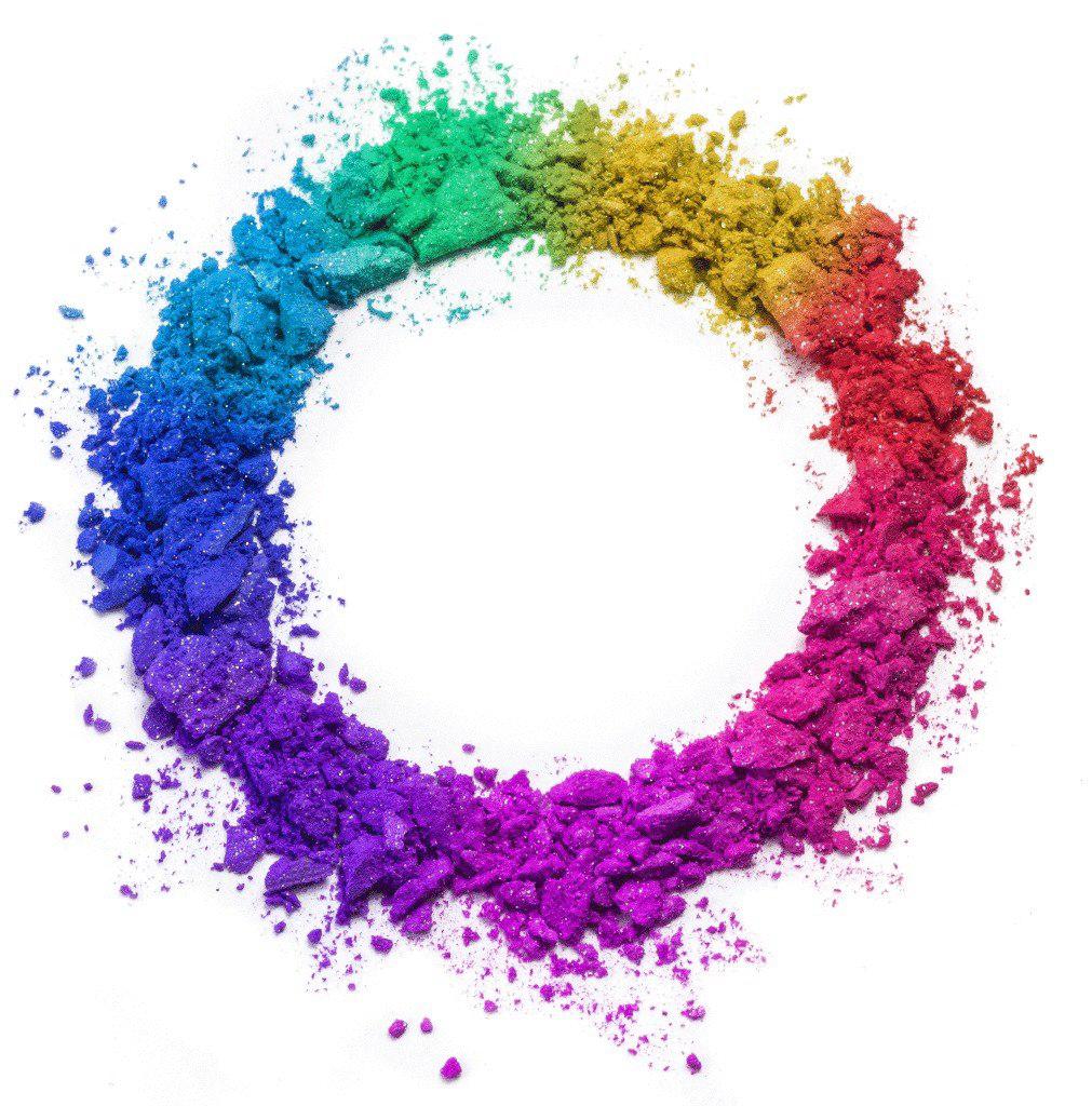 Holi Color Powder PNG Clipart.