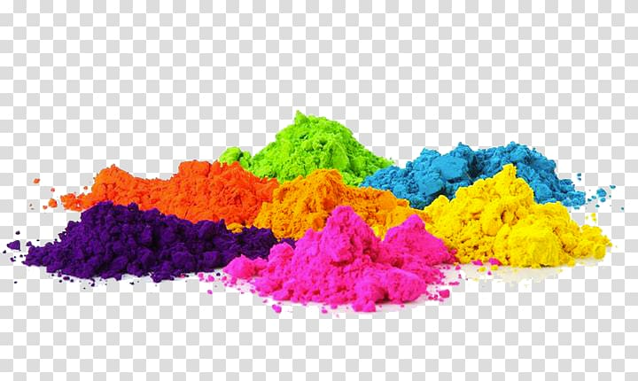 Multicolored powder , The Color Run Holi Festival Of Colours.