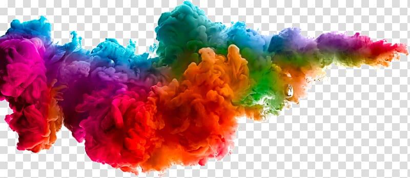 Multicolored smoke, Holi Colors Festival Of Colours Tour.