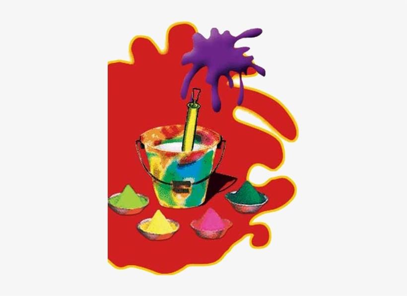 Holi Colours Png, Holi Pichkari Clipart Png, Holi Clipart.