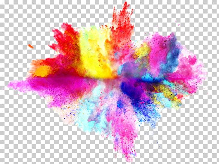 Color Stock photography Explosion , holi, multi.
