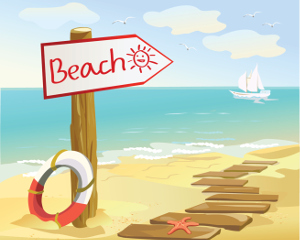 Beach holiday clipart 7 » Clipart Station.