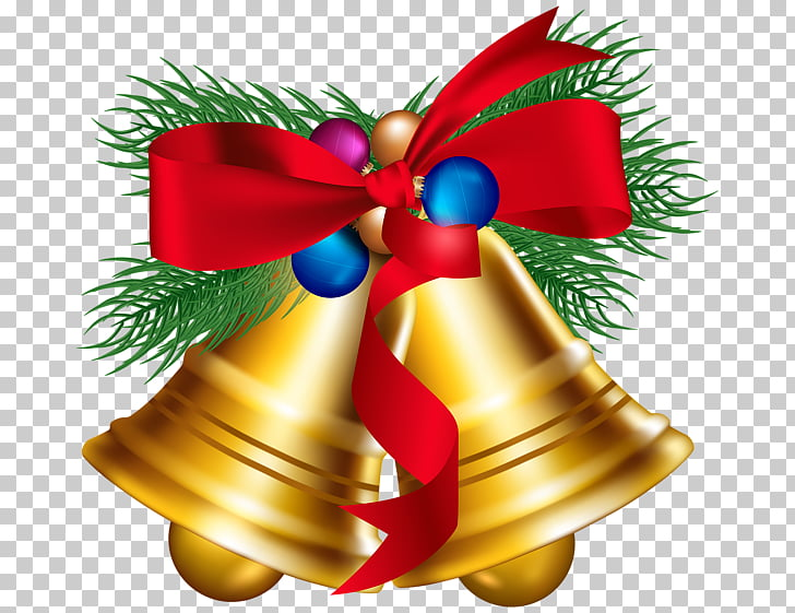 Christmas ornament Jingle bell , Holiday bells PNG clipart.