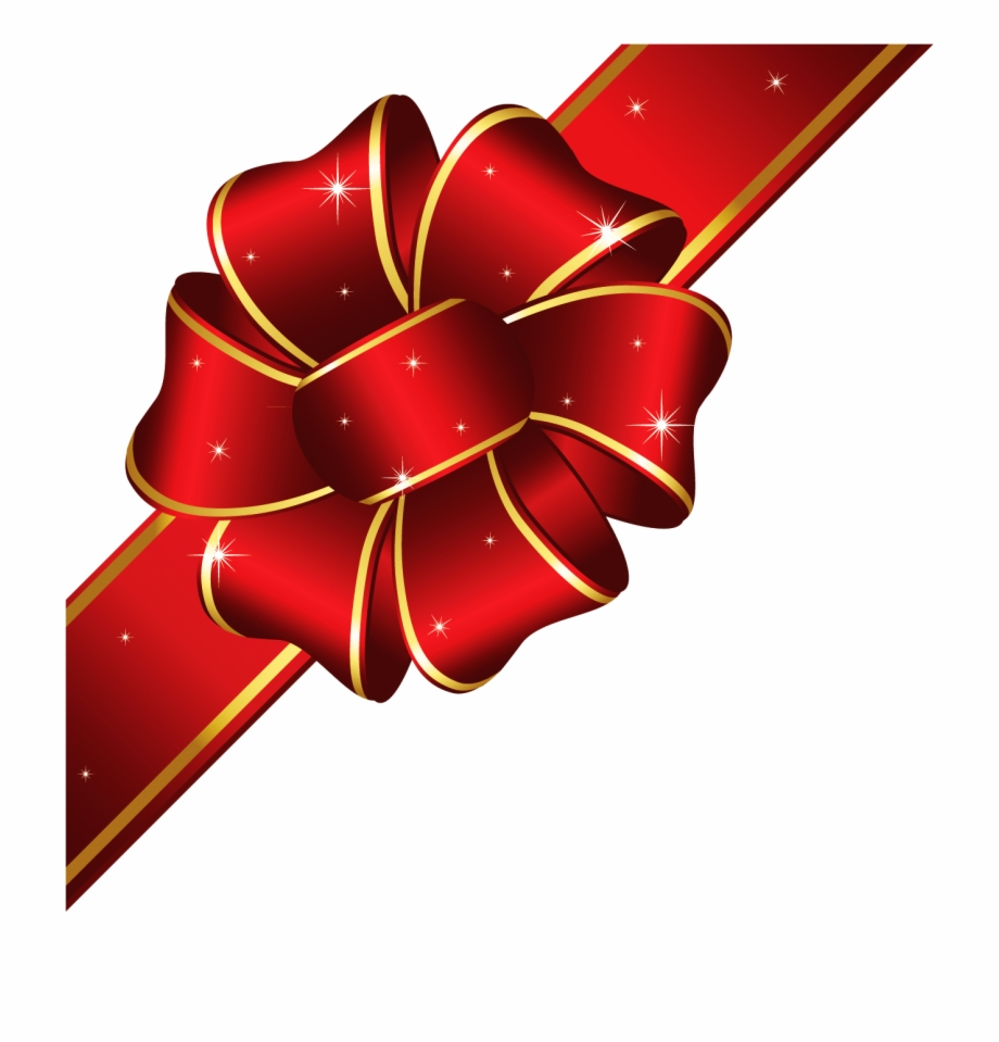 Ribbon Clipart Holiday Bow.