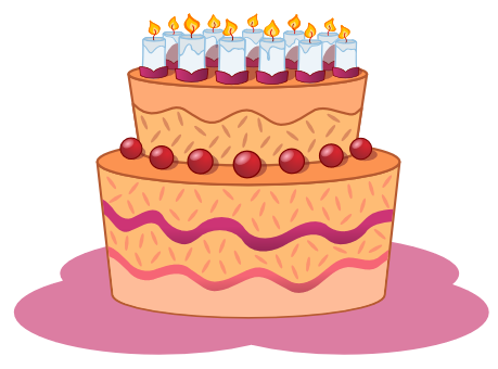 Holiday cake clipart #20
