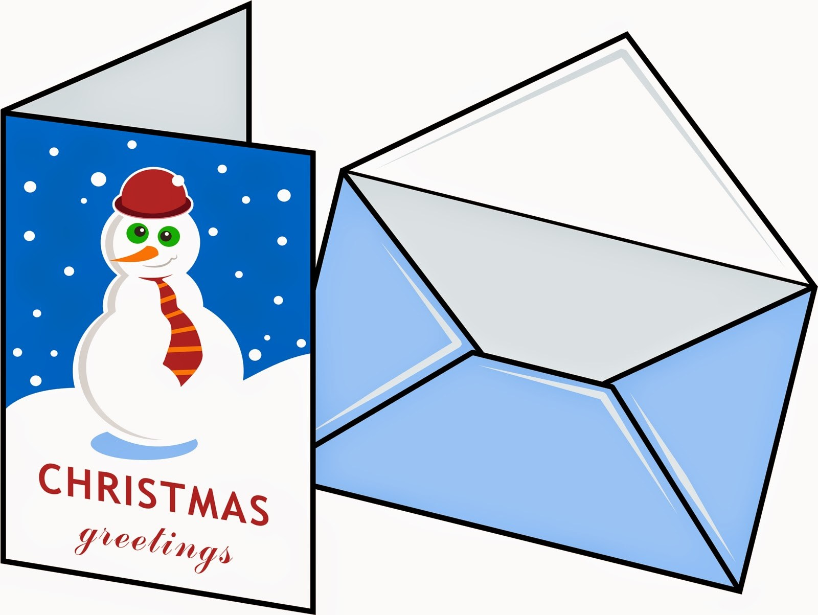 Holiday card clipart 2 » Clipart Portal.