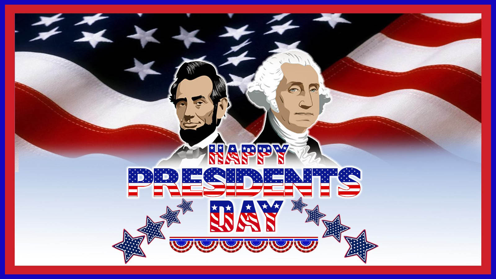 Presidents Day 2015 Clipart.