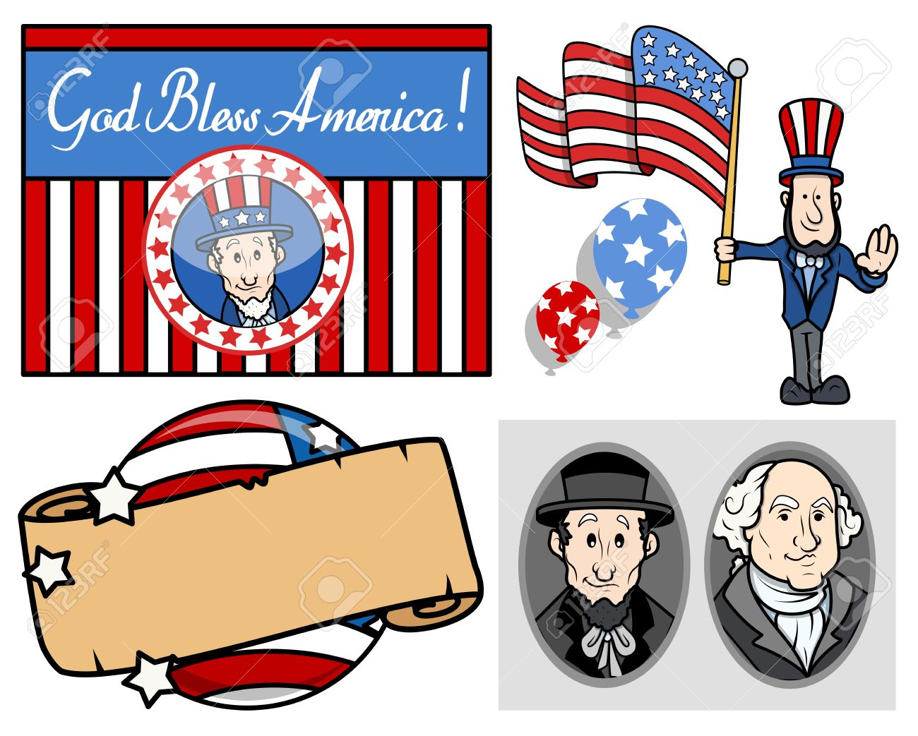 Holiday Clipart Free Presidents Day.