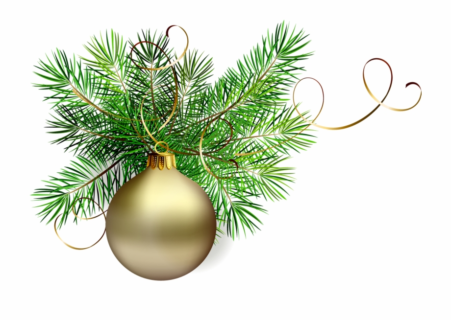Christmas Tree Clipart Clipart Transparent Background.