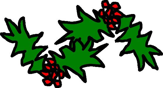 Xmas holly christmas holiday cliparts.