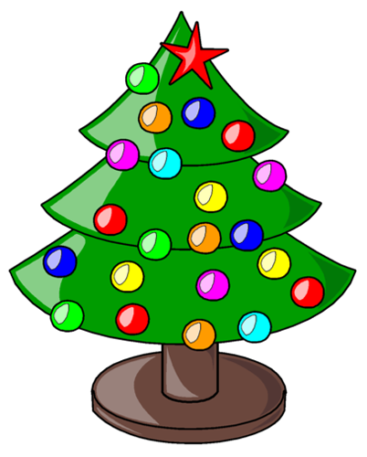 Christmas holiday clip art.