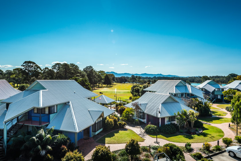 Urunga Riverside Holiday Resort Accommodation.