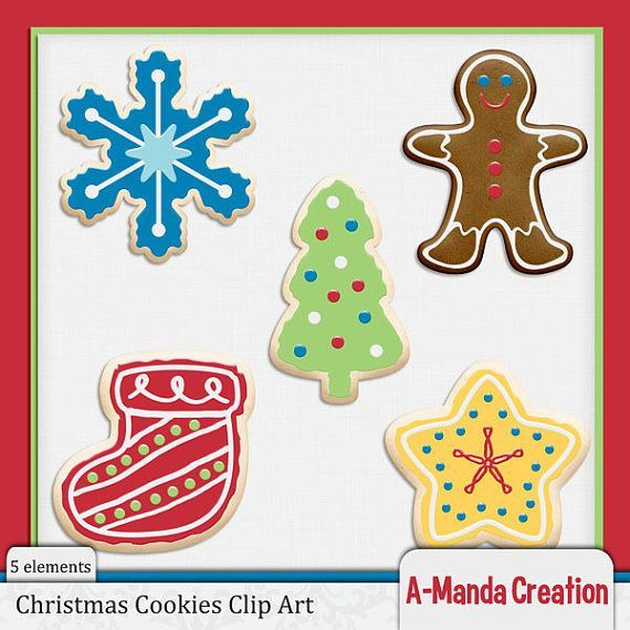 Christmas Cookies Clipart.Holiday Cookies Clipart 20 Free Cliparts Download Images