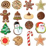 christmas cookies clipart holiday cookie clipart clipart kid.